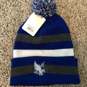 Roger Williams university Pom Pom hat